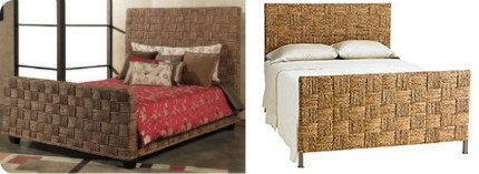 The Complete Queen Size Bed Comes With Sophisticated Price Of 1 298 Pier Imports Offers Their Exclusive Seagr Block