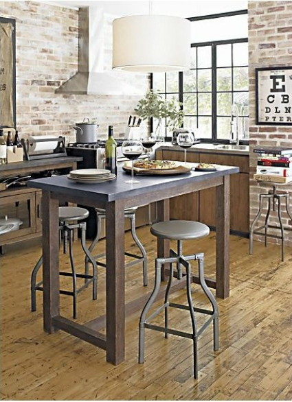 Knockout Knockoffs: Crate and Barrel Kitchen Island ...