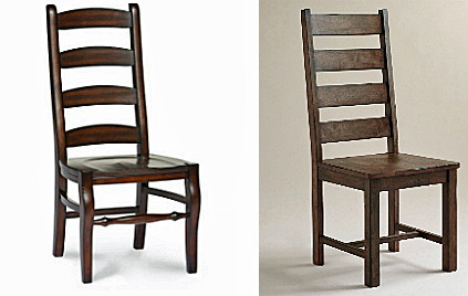 The Wynn Ladder Back Chairs Are Iconic In American Farmhouses Each Hand Distressed And Crafted Chair Costs 249 Garner Side From World