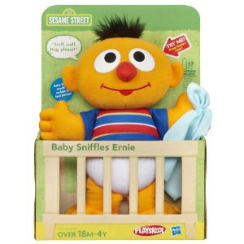 PLAYSKOOL Sesame Baby Sniffles Ernie, Only $8.78 at Amazon!