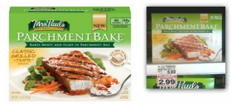Mrs. Paul's Parchment Bake, Only $1.99 at Kroger!