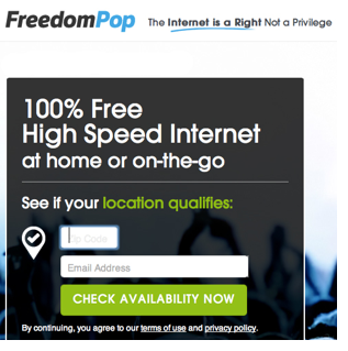 Free-High Speed Internet for a Month with FreedomPop! - The Krazy