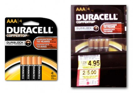 image about Duracell Coupons Printable named Duracell Batteries, Simply just $0.50 at Harris Teeter! - The Krazy