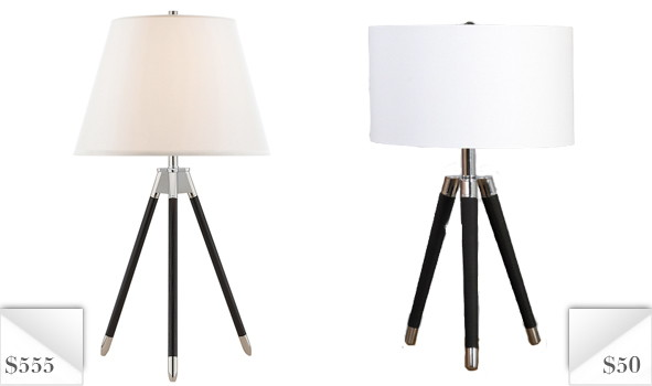 Knockout: Ralph Lauren Homeu0027s Irwin Table Lamp. This Stunning Tripod Base  Lamp Is Available In Ebony Or Birch Finish And Comes With A Linen Shade.