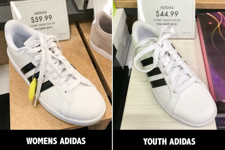 4848fbd62b6a Save Big by Buying Kids  Size Shoes (That Look and Fit Just Like ...