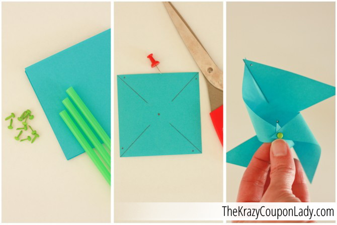 Post It Note Paper Pinwheels The Krazy Coupon Lady