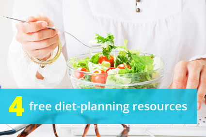 Need a Customized Diet Plan? Try These 4 Free Online Resources