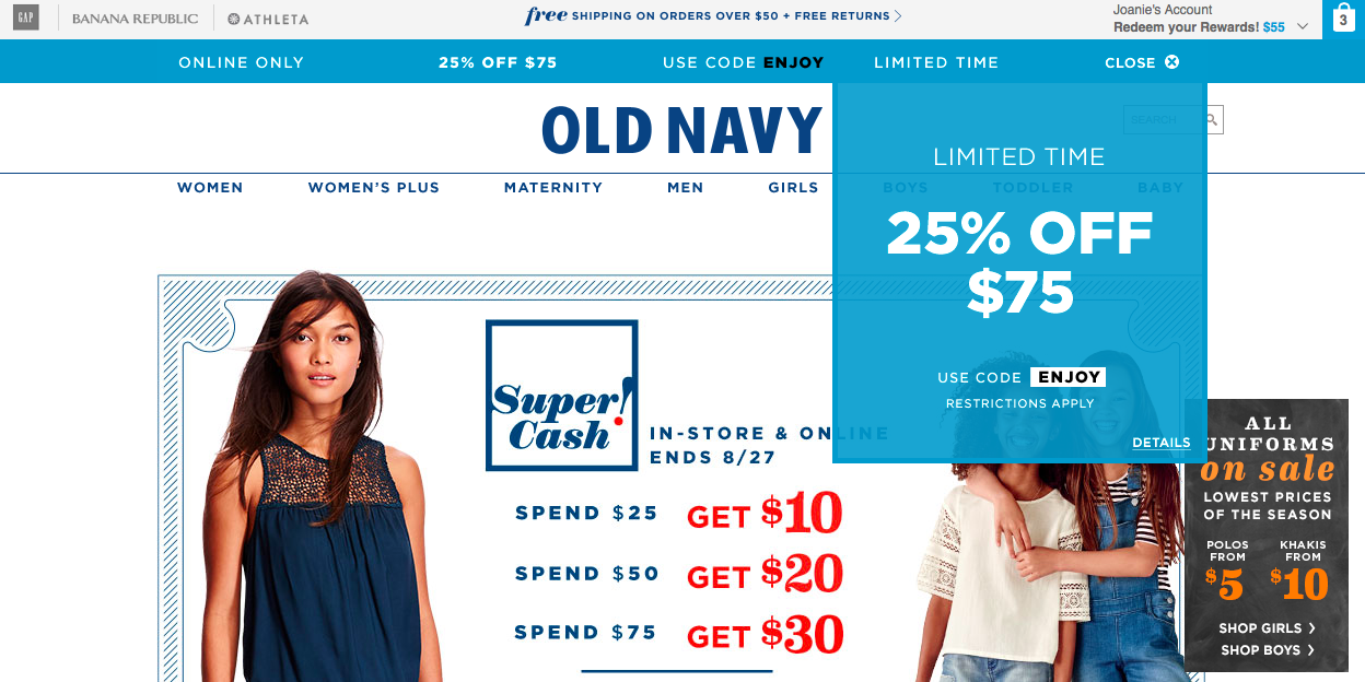 8fa2e2671b 21 Proven Ways to Save at Old Navy - The Krazy Coupon Lady