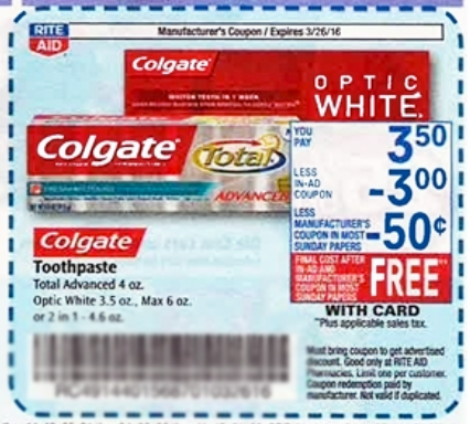 colgate 50 cent off coupon