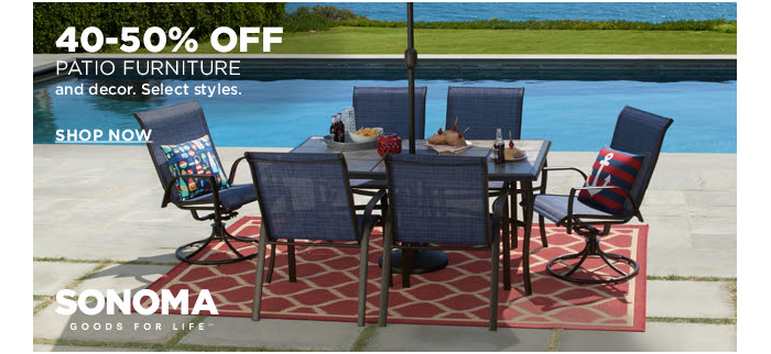 Huge Savings On Sonoma Patio Furniture + Extra 20% U0026 Kohlu0027s Cash!   The  Krazy Coupon Lady