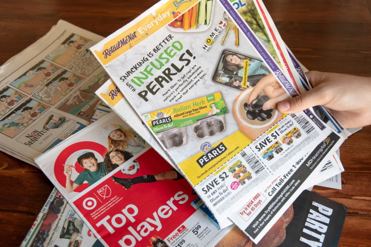 sunday paper coupons free