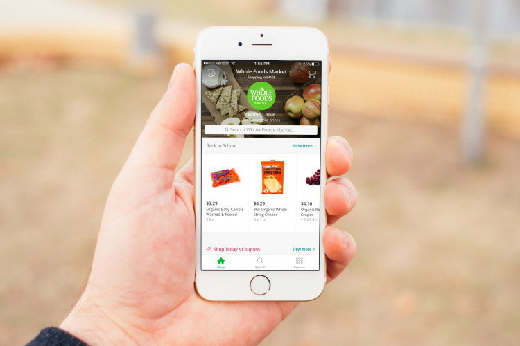 Use Instacart to get paid to do other people's grocery shopping.
