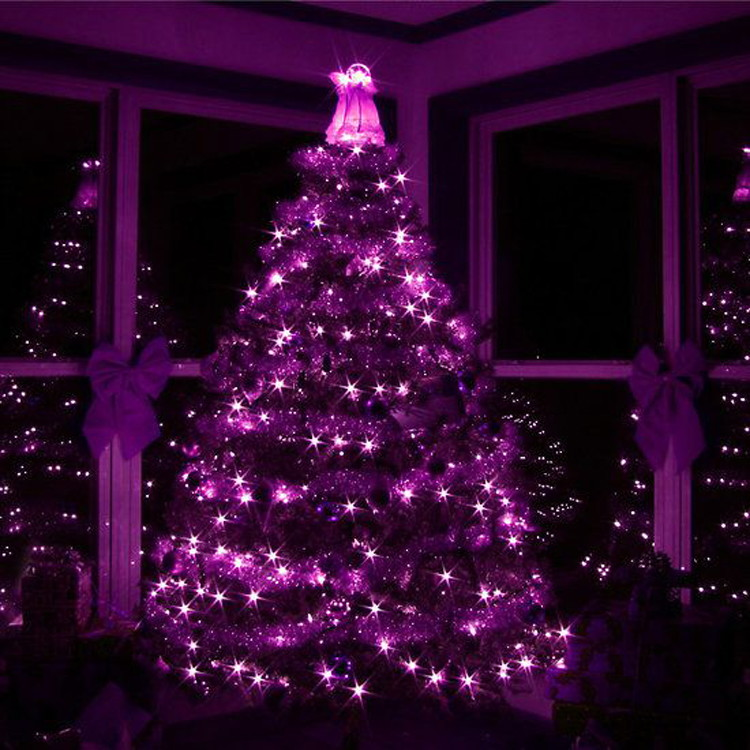 Purple And White Christmas Tree: 13 Genius Ways To Use Halloween Sales & Clearance For