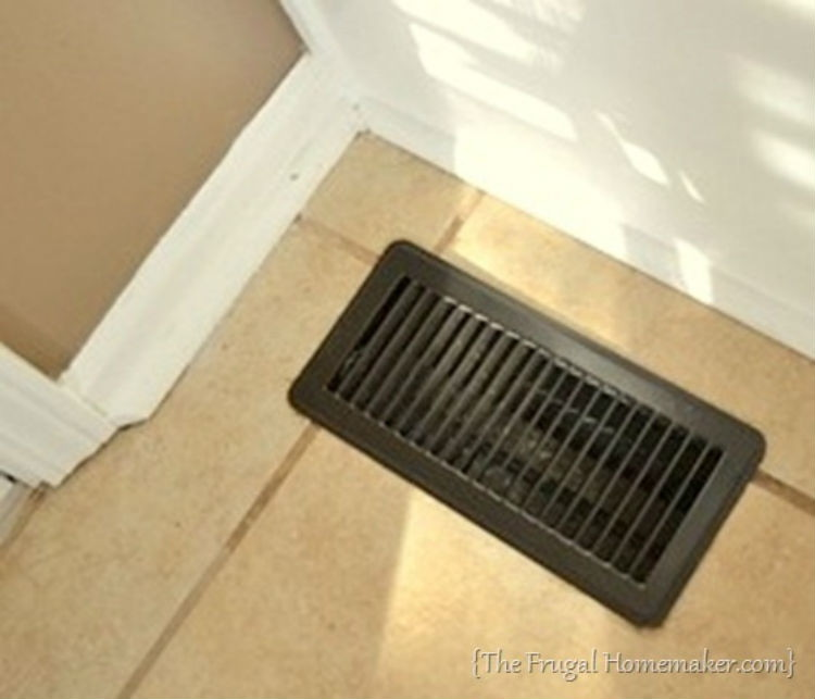 Spray paint your vents.