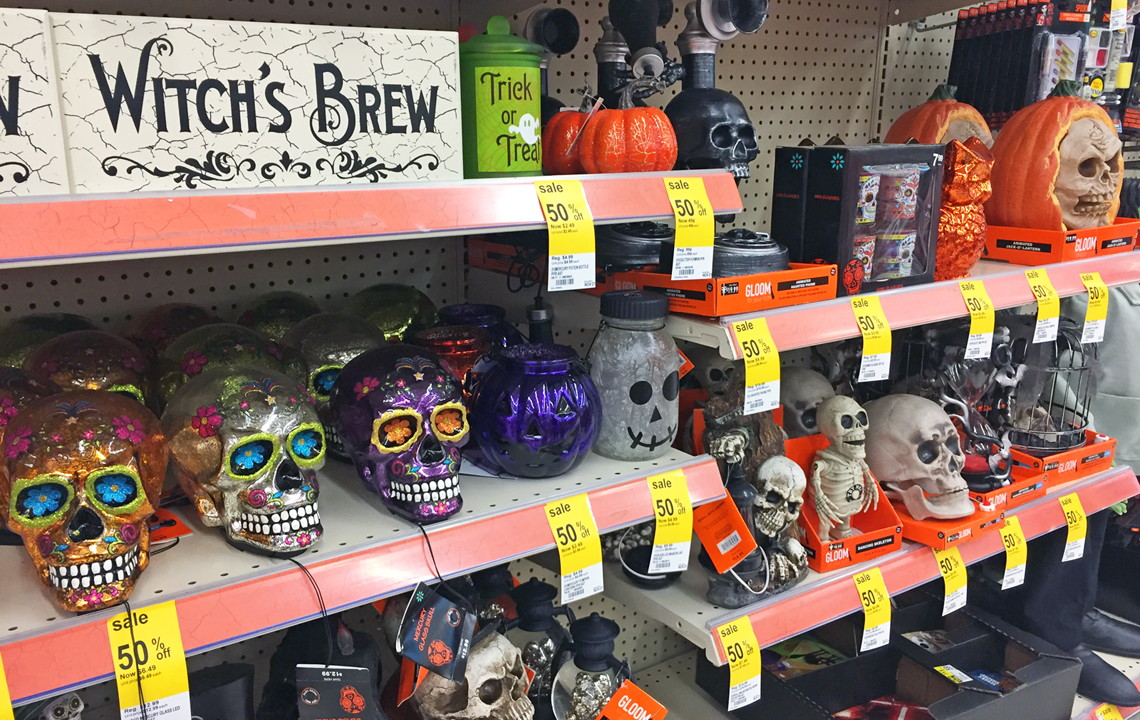 up next 13 genius ways to use halloween sales u0026 clearance for christmas