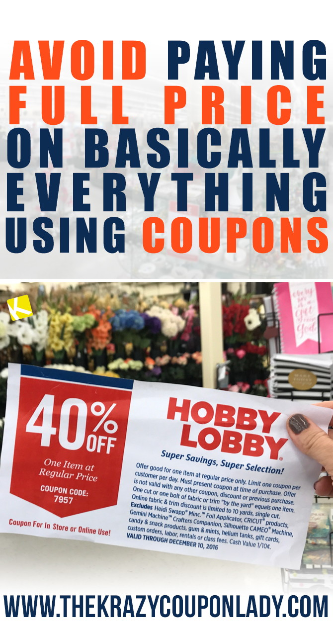 Hobby Lobby Hacks Thatll Save You Hundreds The Krazy Coupon Lady - Download free invoice template online fabric store coupon
