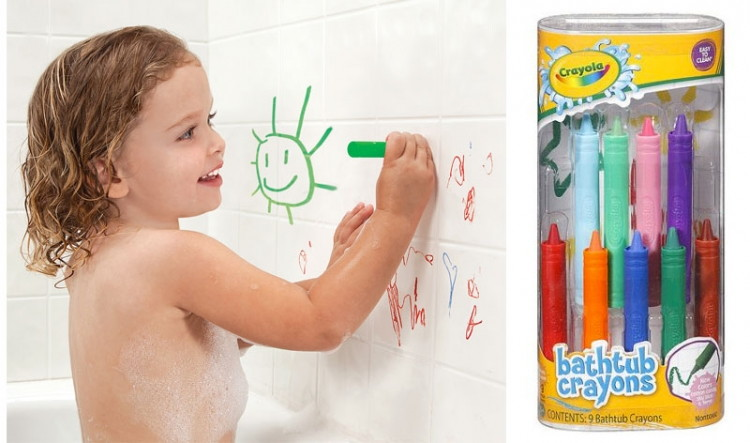 buy 1 9 count crayola bathtub crayons and pay 397 out of pocket and select free in store pickup to avoid shipping - Crayola Bathroom Crayons