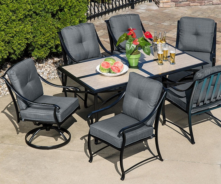 Or La Z Boy Outdoor Emerson 7 Pc. Dining Set U2013 Graphite (reg. $1,199.99)  $699.99. Use Code 10SEARS To Save 10% On Patio Furniture ...