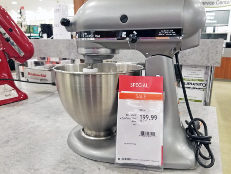 KitchenAid 4.5-Quart Classic Plus Stand Mixer, Only $200 at ...