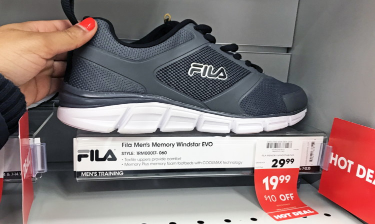 fila shoes kleen rite promo