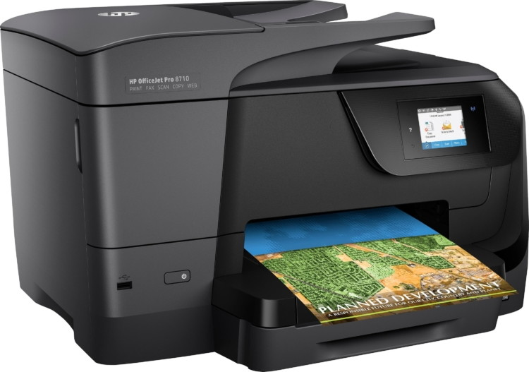 Low Price! HP OfficeJet Pro All-in-One Wireless Printer, $109 99 on