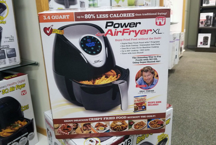 Mystery Coupon Big Savings On Air Fryers At Kohl S: Kohls.com: Power Air Fryer XL, As Low As $48 (Reg. $120