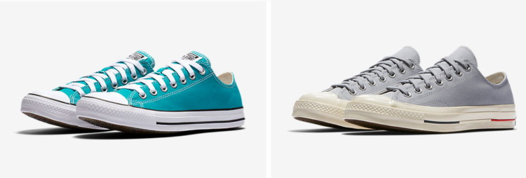 faaca6f143 Buy 1 Converse Chuck Taylor All Star Low Top ( reg. $50.00 ) $34.97. Use  code CON20 for extra 20% off. Free shipping for Nike+ members