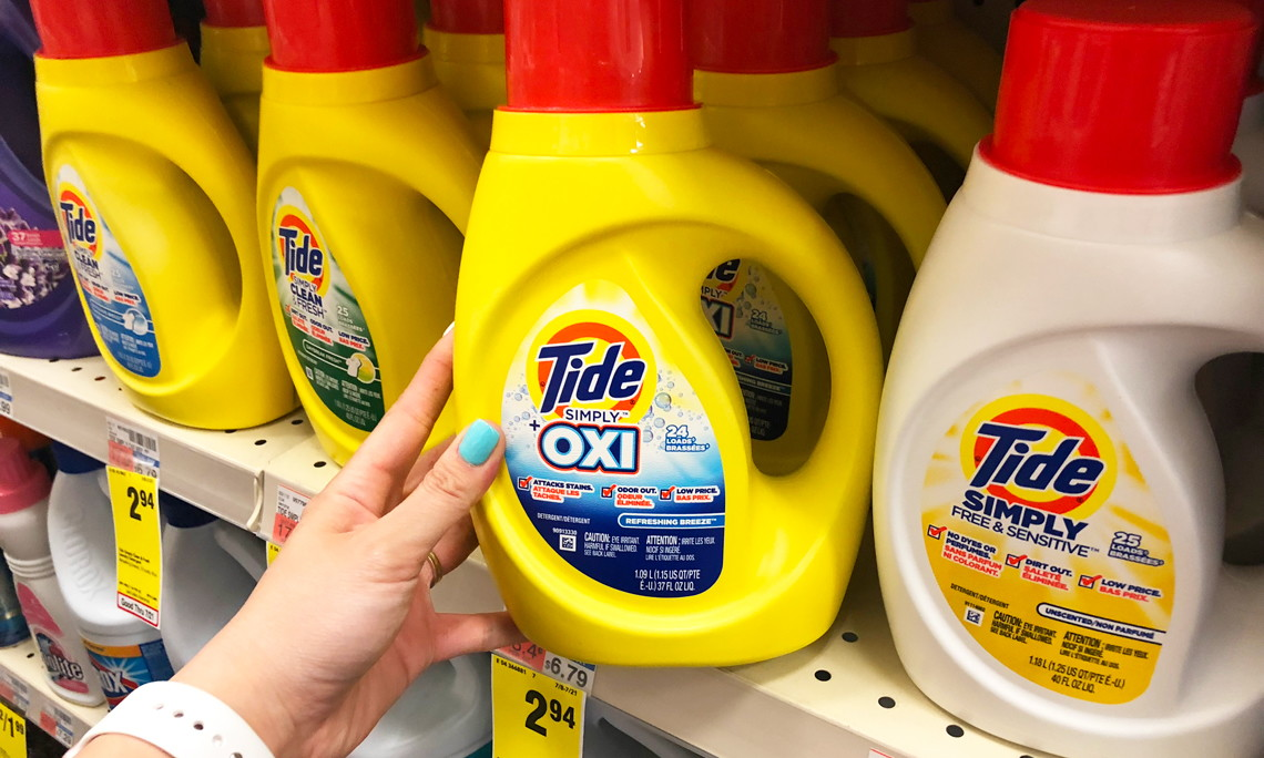 picture regarding Tide Simply Clean Printable Coupons called Back again Back! Tide Quickly, Simply $1.94 at CVS! - The Krazy