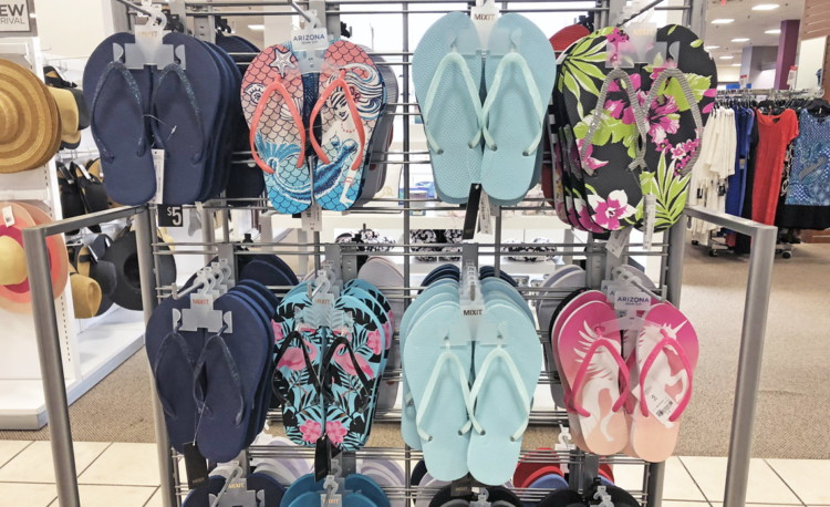 19100feb5 JCPenney.com   0.90 Women s Flip-Flops – Hurry! - The Krazy Coupon Lady