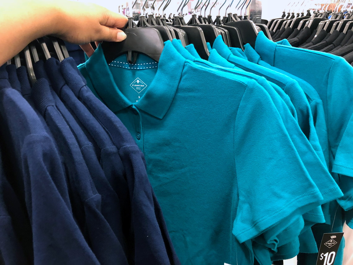 3b05f59255c4 Polo shirts for men and women are on sale for $3.60 at JCPenney! Choose  free in-store pickup, or get free shipping to the store on orders of $25.00  or more.