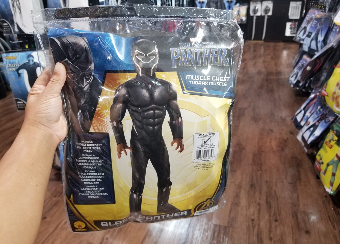 extra 20 off black panther costumes at spirit halloween the