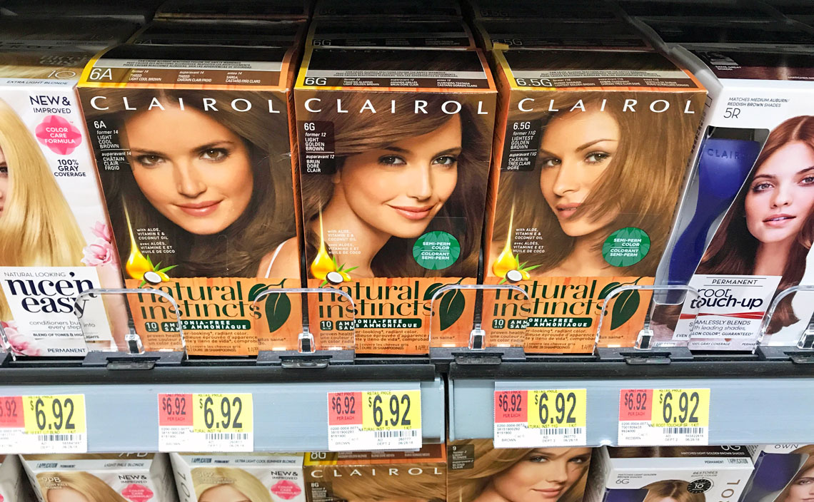 Clairol Natural Instincts Hair Color Only 192 At Walmart The