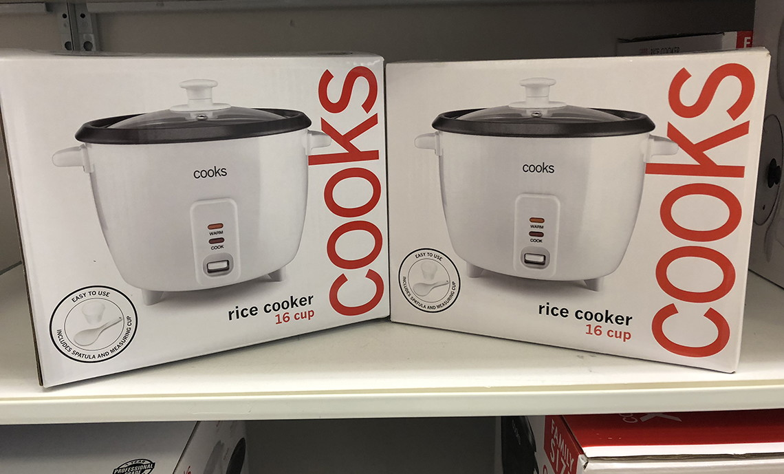 Exceptionnel Buy 1 Cooks 16 Cup Rice Cooker ( Reg. $40.00 ) $19.99, Sale Price Through  11/3. Buy 1 Through 11/3, Submit For $10 Mail In Rebate Through 12/3, Limit  1