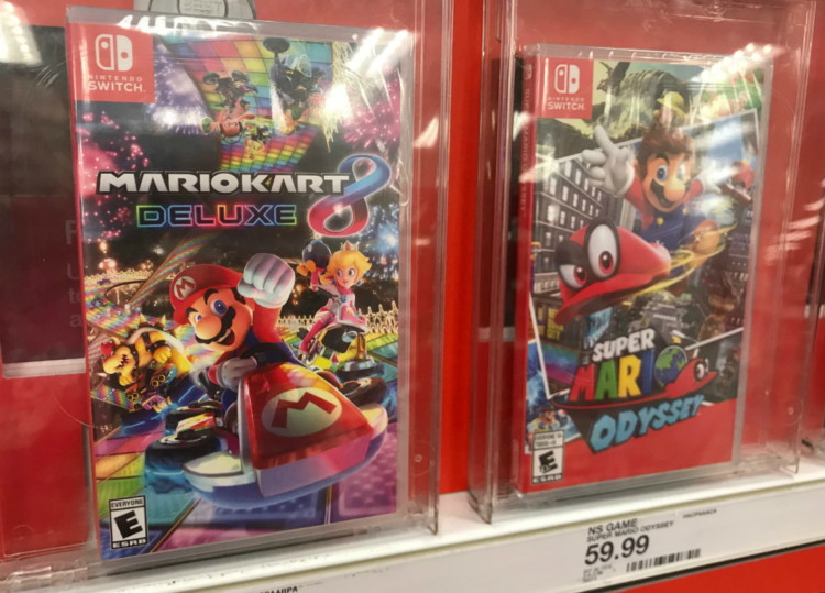 Up to 50% Off Nintendo Switch Games at Target! - The Krazy
