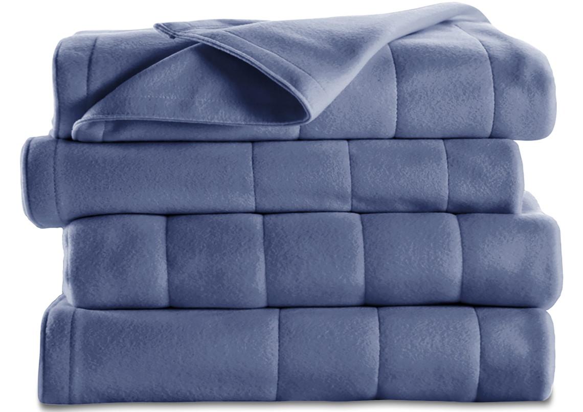 Sunbeam Twin Heated Fleece Blanket Only 17 At Walmart