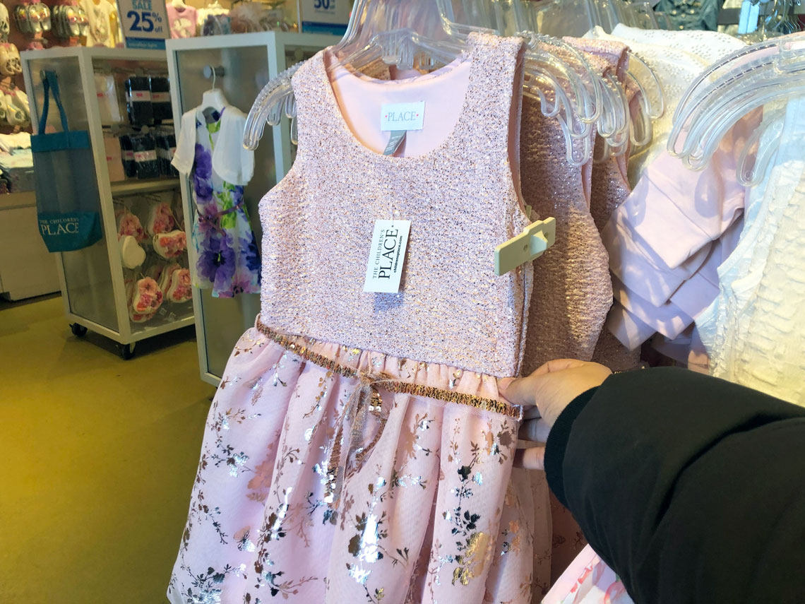 3b5487d88f7 50% Off Easter Dresses at The Children s Place! - The Krazy Coupon Lady