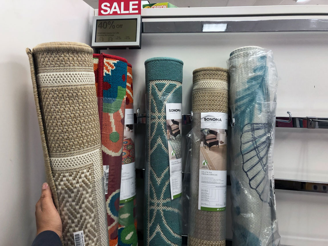 Sonoma Indoor Outdoor Rug As Low As 9 09 At Kohl S