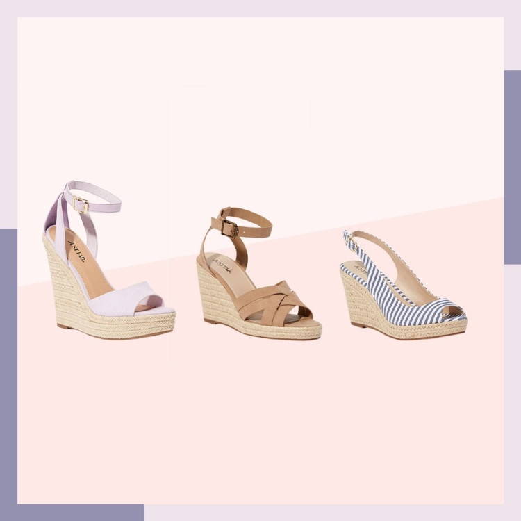baaff6b783b9 2 Pairs of Espadrilles Wedges for  24 – Multiple Styles! - The Krazy ...