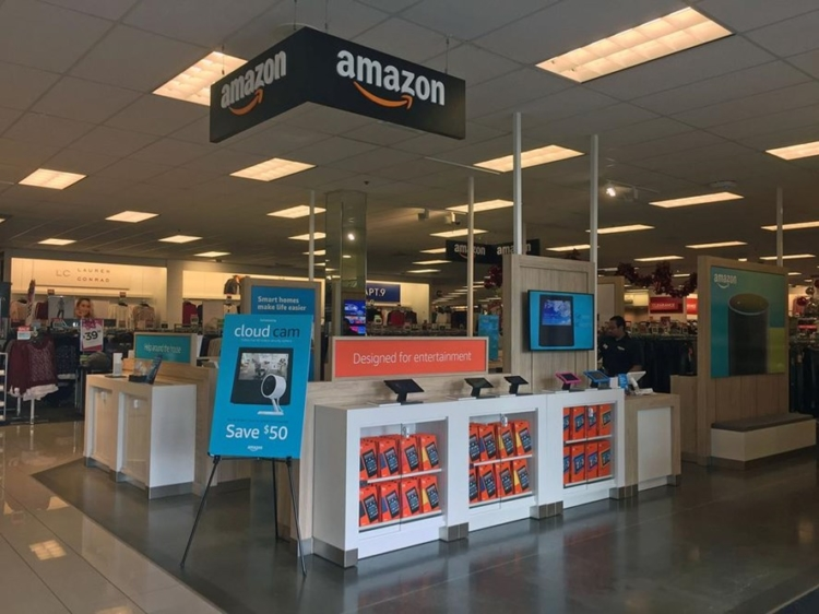 Kohl's first accepted Amazon returns at just 82 stores in 2017.