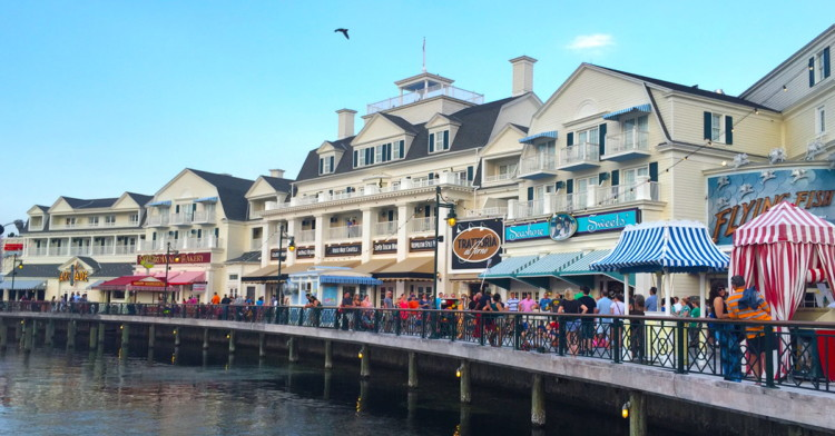 Free things to do in Orlando: Disney's Boardwalk