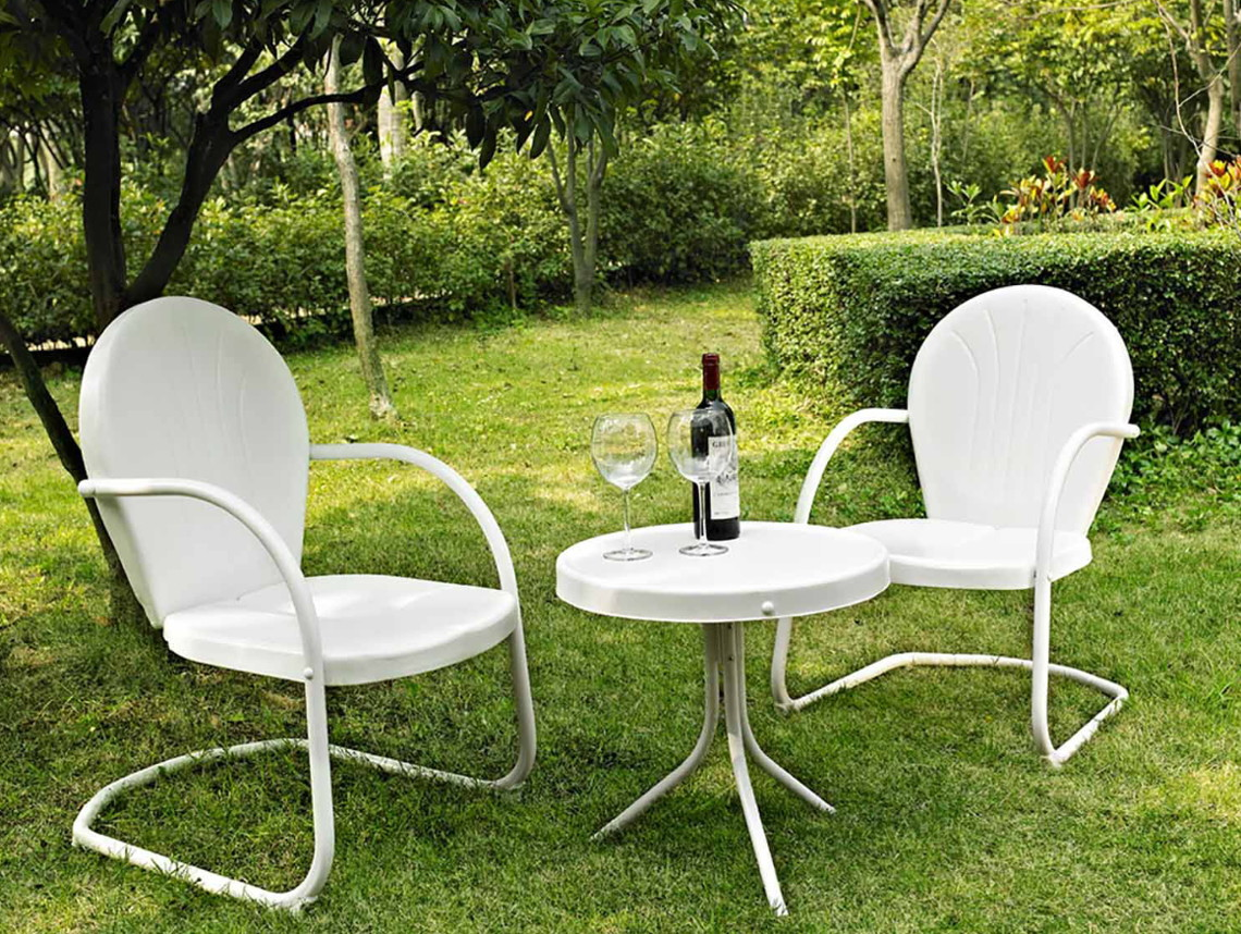 1 Outdoor Oasis Melbourne 3 Piece Bar Height Patio Dining Set With Ice Bucket Reg 450 00 202 88 Price Through 4 7 Online Only