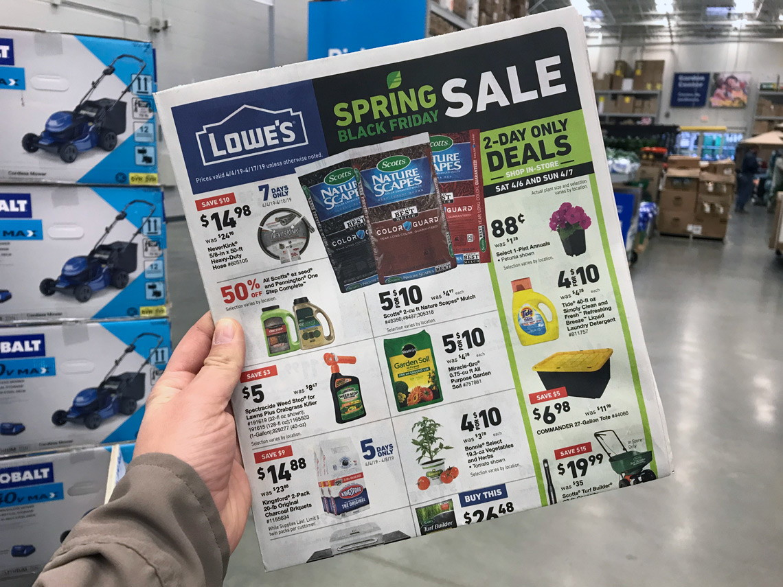 The Top Lowe S Spring Black Friday Deals For 2019 The Krazy