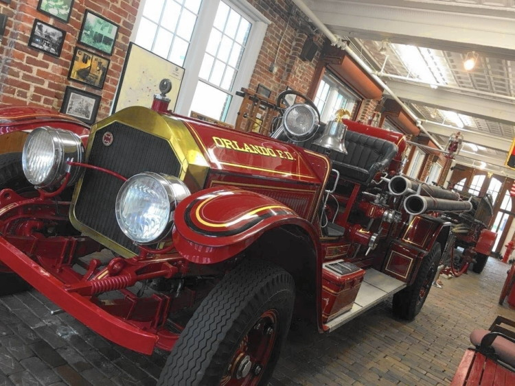 Free Things to Do in Orlando: Orlando Fire Museum