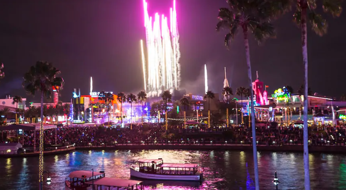 Free things to do in Orlando: Universal Citywalk
