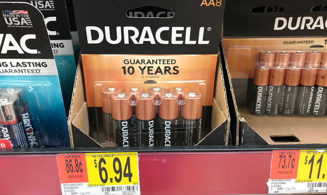 photograph regarding Duracell Battery Coupons Printable named $2.00 Off Duracell Batteries at Walmart! - The Krazy Coupon Girl