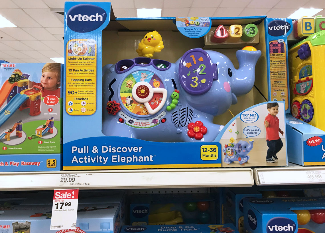 VTech Learning Toys, As Low As $9.50 At Target!