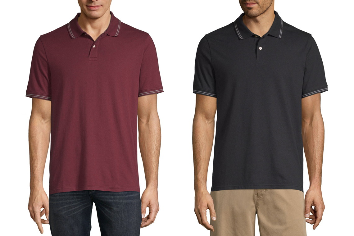 cf8fd3503b7f Buy 1 Men's St. John's Bay Polo ( reg. $7.00 ) $5.00, sale price through  6/20. Free same-day pickup. OR free shipping on orders of $99+ or free  shipping to ...