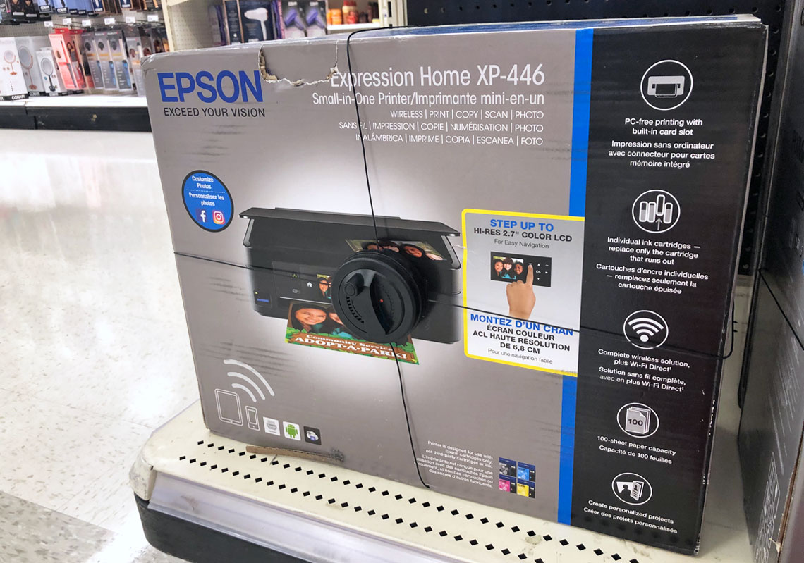 50% Off Epson Wireless Printer at Target! - The Krazy Coupon
