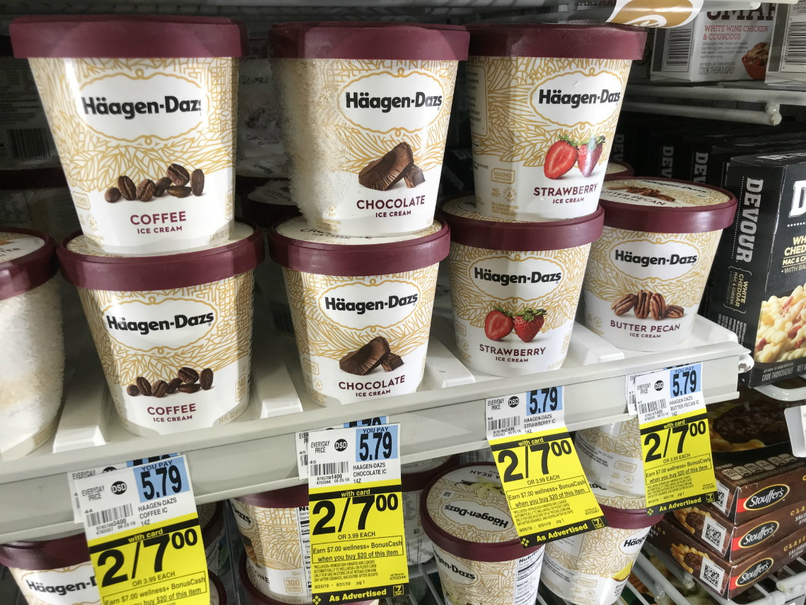 image regarding Haagen Dazs Printable Coupon known as Haagen-Dazs Kelloggs Cereal, Simply $1.44 at Ceremony Guidance