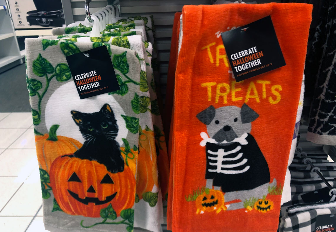 Save On Halloween Kitchen Towels Throw Pillows At Kohl S